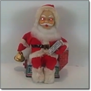 """""""He sees you when you're sleeping. He knows when you're awake. He knows if you've been bad or good. So be good for goodness sake."""" Or else Santa may kill you."""