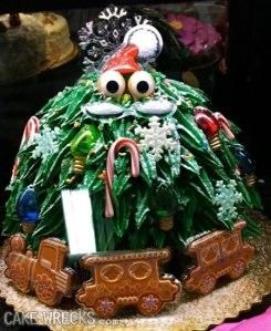 More like a living Christmas bush if you ask me. Kind of creepy with the eyes.