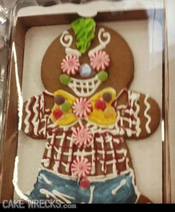 The punk gingerbread man of your nightmares.