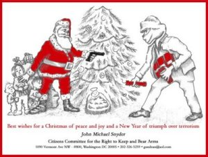 Seriously, Christmas is not a time of year to promote gun rights, especially in Newtown. Also, may make others want to vouch for gun control.