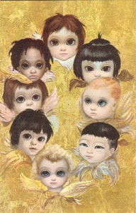 Seriously, these are angels? More like creepy little demons to me of every race, creed, and color, no less. Jesus, this is terrifying.