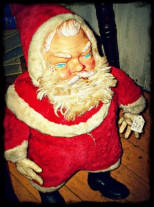 A perfect Santa figurine for Stephen King who probably has one in his house already.
