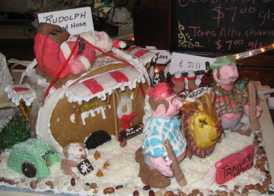 Redneck gingerbread house pictures