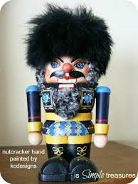Could also be referred to as Attila the Hun nutcracker or Genghis Khan nutcracker.
