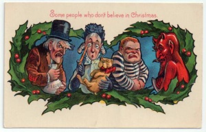 Seriously, I think some of these guys do celebrate Christmas.
