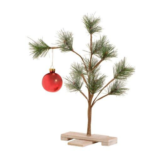 the scrawny little charlie brown tree made infamous by the peanuts holiday special a charlie brown christmas however unlike the cartoon giving a little - Charlie Brown Artificial Christmas Tree