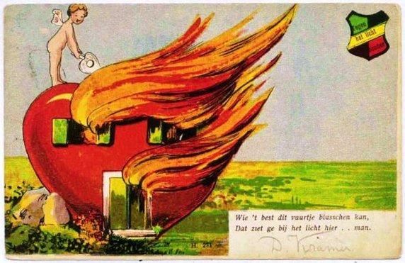 The Wonderful World of Vintage Valentines – Weird Valentines Cards