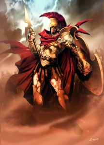 He may be an imposing and manly god of war but he doesn't have many friends on Mount Olympus and loves going on bloodthirsty killing sprees just for the heck of it all. But if he gets hurt, he'll whine and run to daddy. Also, he's kind of worthless against most non-mortal enemies.