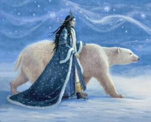 Goddess of winter who could be as cold as ice. Enters Asgard seeking vengeance on her father's death and really lets Loki have it when he's captured.