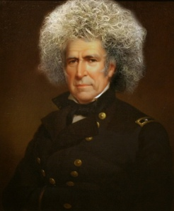 And does he look gorgeous in that fro? And how. Sadly, he died a little over a year in office.