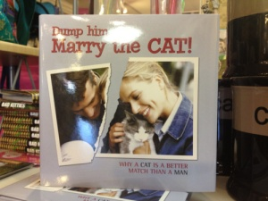 Of course, there's another book called Dump Her Marry the Dog but I haven't seen it.