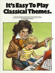 I don't like the look of this set up. Seems like Beethoven has something dirty on his mind with that kid on his lap.