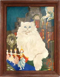 Of course, this may be a Persian delusion of grandeur for a Fancy Feast Gourmet Cat Food ad.