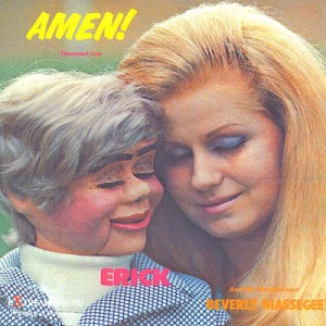 Seriously, Christians, what's with the attractive women and dummies on your albums? Look, I know many of you think homosexuality is unnatural but at least gays want to have relationships with actual people.