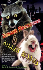Only the Holy Hand Grenade of Antioch can stop these critters now. Seriously, I can't talk about this cover without bringing up Monty Python jokes up. Of course, raccoons do spread rabies though.