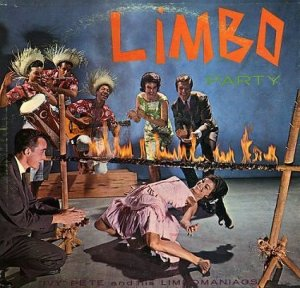 Because limbo isn't limbo unless you have to go under a rope set on fire so your hair doesn't burn to a crisp.