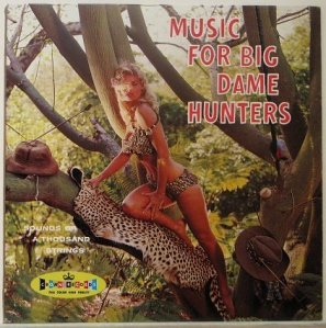 Of course, I wonder how many innocent animals had to die to get this hideous album cover. Also, what's with the arrows in the safari hat?