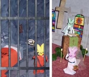 Still, this prison peep wedding scene is rather touching if you think about it.