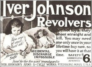 """Absolutely Safe,"" ""Accidental Discharge Impossible,"" ""Pa says it won't hurt us,"" as this ad promises. However, all these sayings are what is known in the advertising business as ""bullshit."" Guns are never safe around kids and accidental discharges will happen."