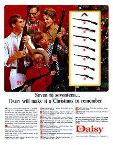 I really don't want to live next to these people. Let's just say guns are another thing I wouldn't want for Christmas.