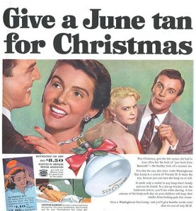 Yeah, why wait till summer where you can expose yourself to skin cancer causing UV rays today and for half the price? And I thought the tanning craze now was insane.