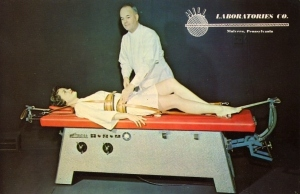 Seriously, what is this? Is it a massage table, something used for plastic surgery, or a torture device?
