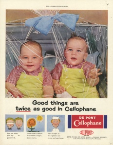 What's with the babies in plastic wrap? Babies aren't food products. Is this child abuse or cannibalism?