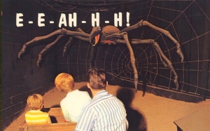 No matter how big or fake looking a spider may be, it still appears terrifying to many.