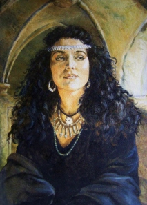 Morgan Le Fay is perhaps one of the best known characters in Arthurian legend as well as one of the most popular. Somehow there's something hard to resist with such a complex scheming witch who feels that Queen Guinevere's a hypocrite for banishing her lover and taking up with Sir Lancelot. Of course, she also had the hots for him as well.