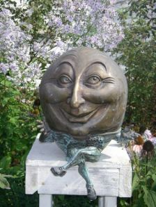 Due to the fact Humpty Dumpty makes a creepy lawn ornament, there's a reason why many children wouldn't feel bad about him taking his great fall in the nursery rhyme.