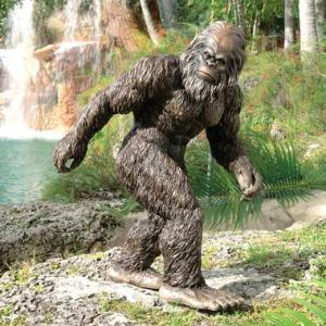 Of course, if your statue of Sasquatch proves a draw on Discovery Channel's Finding Bigfoot, don't be surprised. Of course, there's probably enough evidence that Bigfoot probably doesn't exist in the first place.