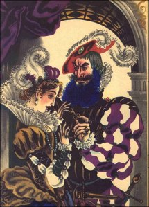 Bluebeard has major trust issues for good reason.