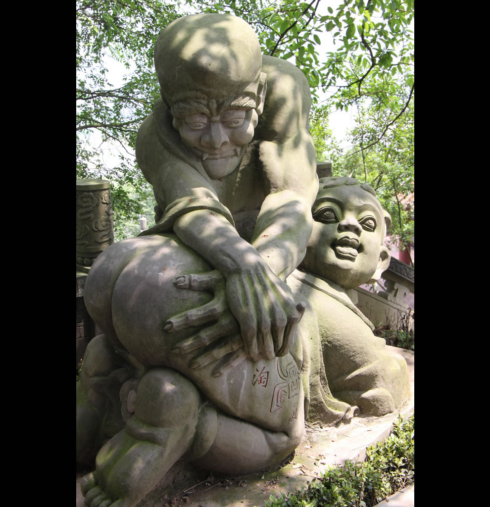 Bigfoot lawn ornament - Is It Just Me Or Does This Statue Seem To Depict Something Very Very Dirty