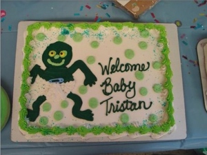 After all, little green men are people, too, even if their kids freak you out at one time. Yet, strangely the parents intend to name their new son with the Earth name of Tristan. Perhaps this might be the case since Orgarth and Mosal figured that a name from their planet would get their son beat up in school.