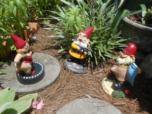 Garden Gnomes With Guns the wonderful world of lawn ornaments | the lone girl in a crowd