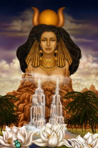 An important goddess in Ancient Egypt, Hathor was one of the most popular and widely worshiped in Ancient Egypt. She was the goddess of love and fertility who helped protect women during childbirth. Yet, she was also a hard drinking party girl you didn't want to anger.