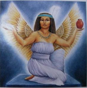 Maat is the goddess of truth, justice, and order and it's her feather that is weighed against a person's heart to see if it goes to the afterlife. Other than that, it's all she does.