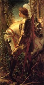 "Sir Galahad is one of the more familiar Knights of the Round Table but he's one of the most recent and least interesting. Rather he's seen as ""the world's greatest knight."" Then again, his character may have been inspired by the practices of the Cistercian Order founded by Saint Bernard of Clairvaux."