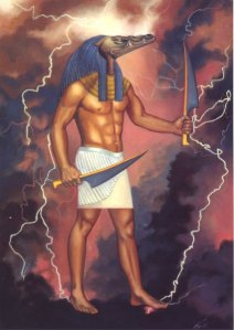 Sobek is the god of the Nile and fertility which basically makes him seem as a good Egyptian deity. However, as a god, he is violent and hedonistic who lives up to his sacred animal.