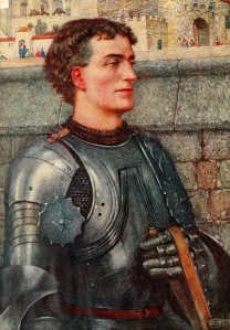 Sir Lancelot may have been a latecomer in the Arthurian mythos but he quickly became very popular afterwards. In the later romances he's a main focus.