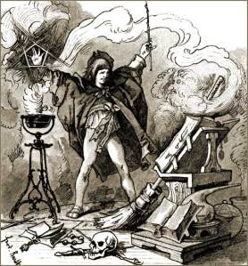 Perhaps using magic to help with housework is probably not a good idea.