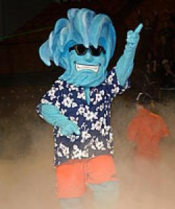 This is basically a cross between a surfer dude in a Hawaiian shirt with a large pompadour and way too much hairspray and a sea monster. Then again, he probably came to be after being struck by lightning while surfing during a hurricane.