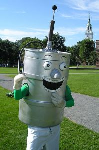 Now if your mascot is a giant anthropomorphic beer keg what does it say about your school? That it has a reputation for being party school with a lot of fraternities and sororities as well as excessive drinking. Now would you want your school mascot to represent, especially if it's an ivy league college like Dartmouth?