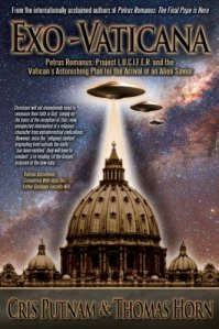 Of course, I read a summary of what its about on Amazon.com, this is about the Catholic Church's involvement with extraterrestrial conspiracy theories. Also, let's just say that this books provides as much accurate information about the Catholic Church as Dan Brown or the Left Behind series: None at all. Also, the ridiculous cover design with a UFO hovering over Saint Peter's Basilica kind of  gives the divine revelation that this book is full of shit.