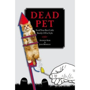 I know that the loss of a pet is perhaps one of the first sad moments a child will experience. Yet, this image of a dead cat on a rocket makes a child delightfully looking forward to his or her furry friend's demise. Still, I can't help but laugh.
