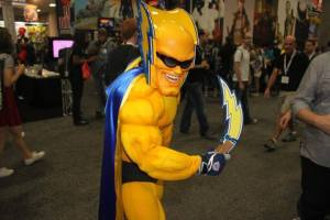 Though Boltman was born with phenomenally electrical powers, he couldn't get a job anywhere else than being the San Diego Chargers' mascot after he was rejected by the X-Men for simply making the team look bad and pissing off Wolverine.