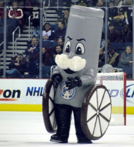 """Though Boomer certainly resembles a decent mascot, there's just one problem. When he debuted as a """"a kid-friendly, cushy cannon character with a friendly face and fluffy moustache reminiscent of a Civil War-era general,"""" the fans didn't take it too well. This is mostly for his so-called phallic appearance. Still, phallic or not, I think causing such controversy makes it worthy to add in the Pro Sports Mascot Hall of Shame."""