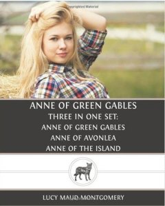 Seriously, why should that girl even be on the cover? Anne of Green Gables wasn't a girl in a joke about the farmer's daughters. Also, she's supposed to be a plucky redheaded girl not Daisy Duke's cousin.