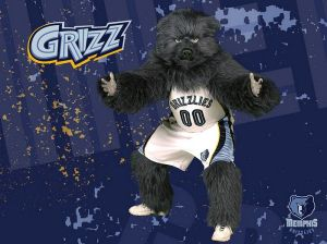 Grizz's dream was to be the first bear to be a chemical engineer and had a lot of great ideas for shampoo. Unfortunately, being a bear, he was unable to secure any meaningful employment and became a mascot for the Memphis Grizzlies instead.