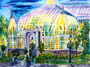 Ohio is home to the Franklin Park Conservatory in Columbus. This glass botanical palace was built in 1895 and now serves as a horticultural and educational institution showcasing exotic plant collections, special exhibitions and artworks by renown glass sculptor Dave Chihuly. Contains over 400 species in all.
